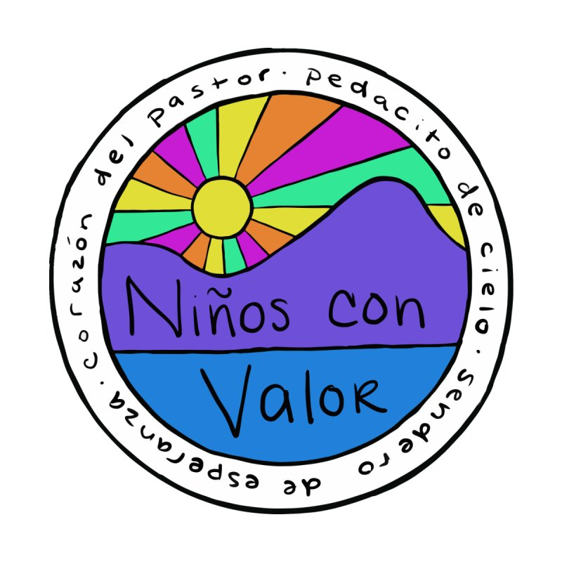 NCV Mountain Sunburst by Niños con Valor's Artist Shop