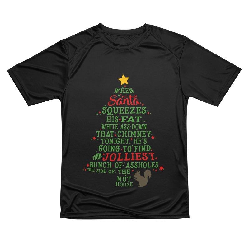 Jolliest bunch of a**holes Women's Performance Unisex T-Shirt by Ninth Street Design's Artist Shop