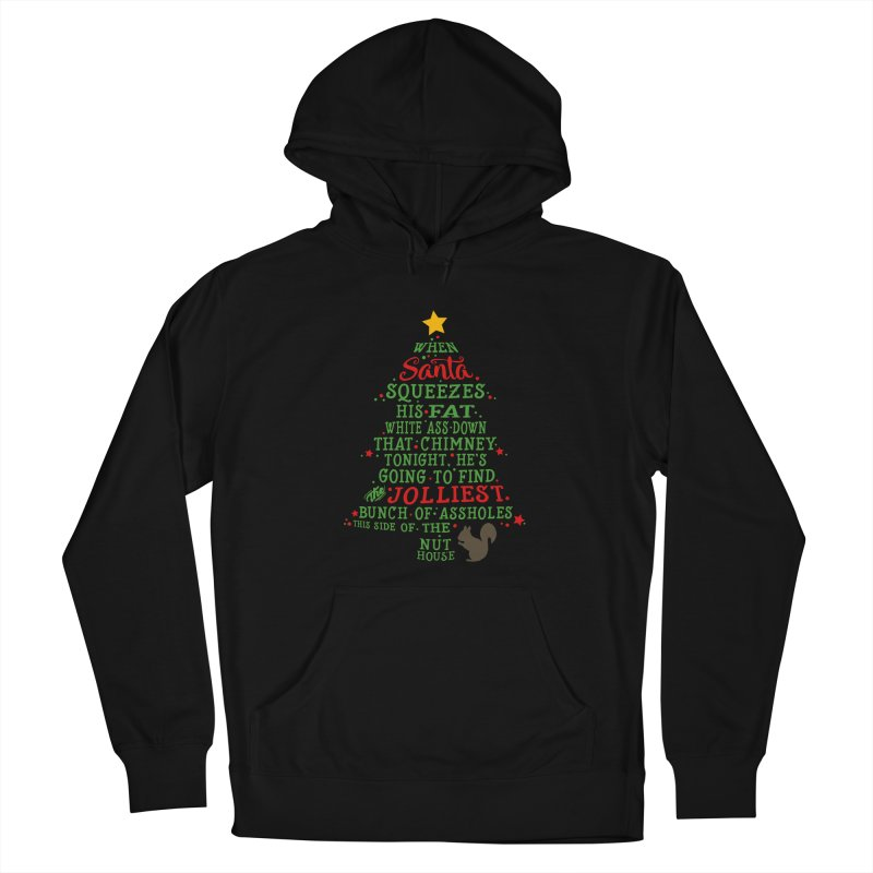 Jolliest bunch of a**holes Men's French Terry Pullover Hoody by Ninth Street Design's Artist Shop