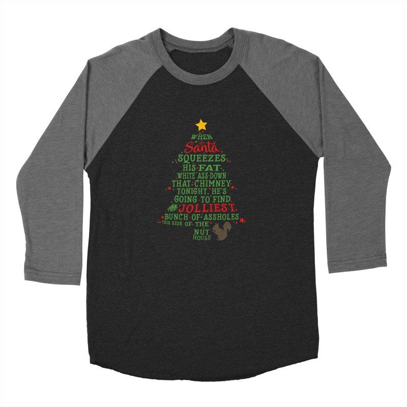 Jolliest bunch of a**holes Men's Baseball Triblend Longsleeve T-Shirt by Ninth Street Design's Artist Shop
