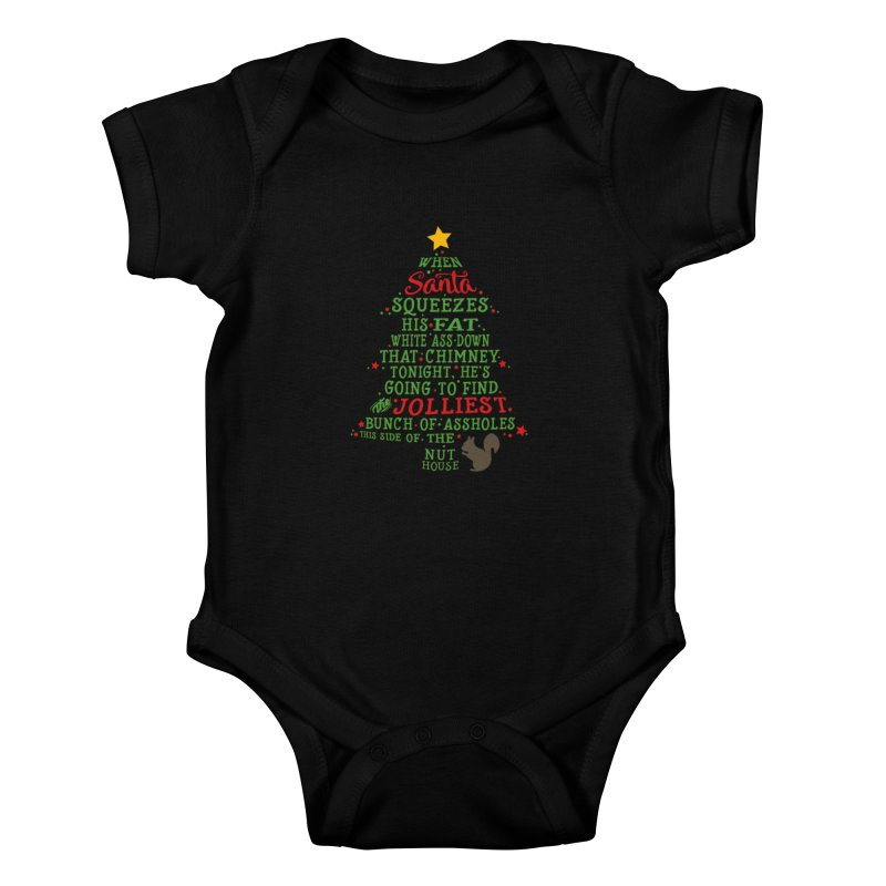 Jolliest bunch of a**holes Kids Baby Bodysuit by Ninth Street Design's Artist Shop