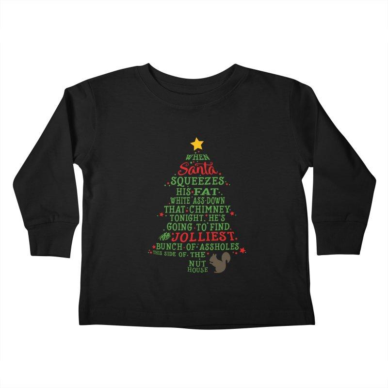 Jolliest bunch of a**holes Kids Toddler Longsleeve T-Shirt by Ninth Street Design's Artist Shop