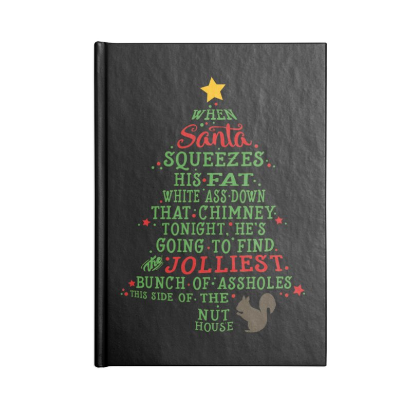 Jolliest bunch of a**holes Accessories Blank Journal Notebook by Ninth Street Design's Artist Shop