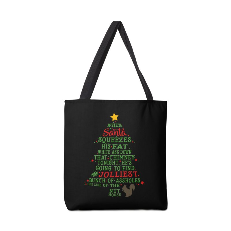 Jolliest bunch of a**holes Accessories Tote Bag Bag by Ninth Street Design's Artist Shop