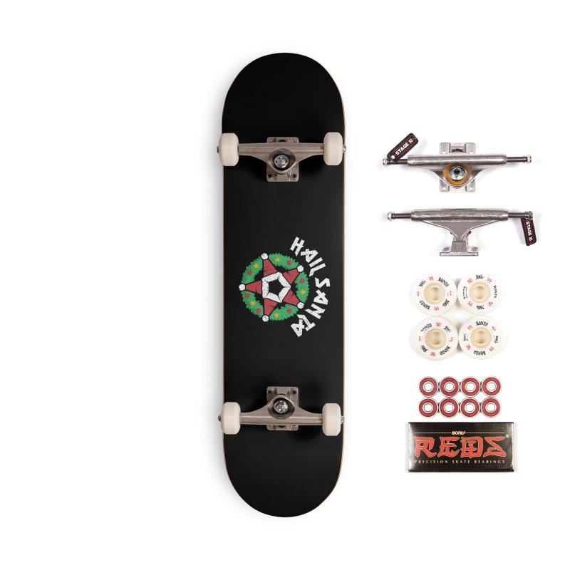 Hail Santa Accessories Complete - Pro Skateboard by Ninth Street Design's Artist Shop