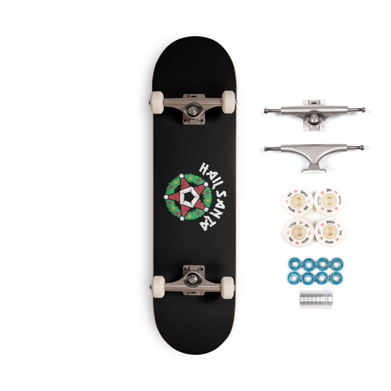 Hail Santa Accessories Complete - Premium Skateboard by Ninth Street Design's Artist Shop