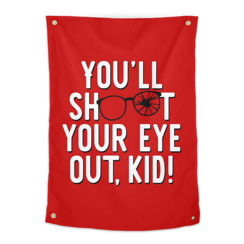 You'll shoot your eye out! Home Tapestry by Ninth Street Design's Artist Shop