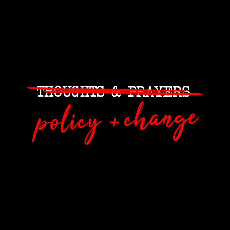 Policy + Change Men's Pullover Hoody by Ninth Street Design's Artist Shop