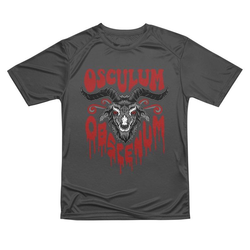 Kiss the Goat Women's Performance Unisex T-Shirt by Ninth Street Design's Artist Shop