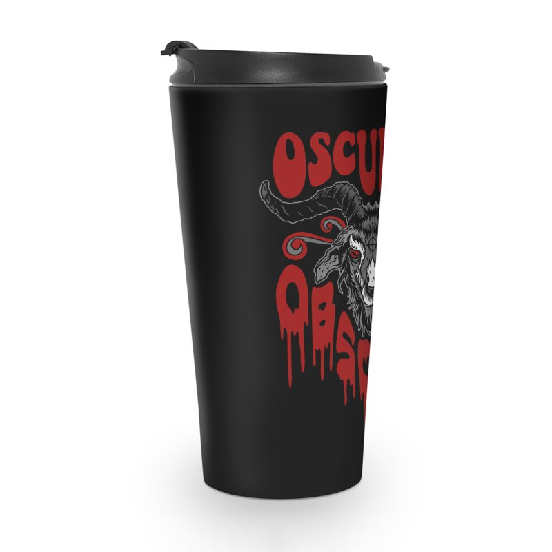 Kiss the Goat Accessories Travel Mug by Ninth Street Design's Artist Shop