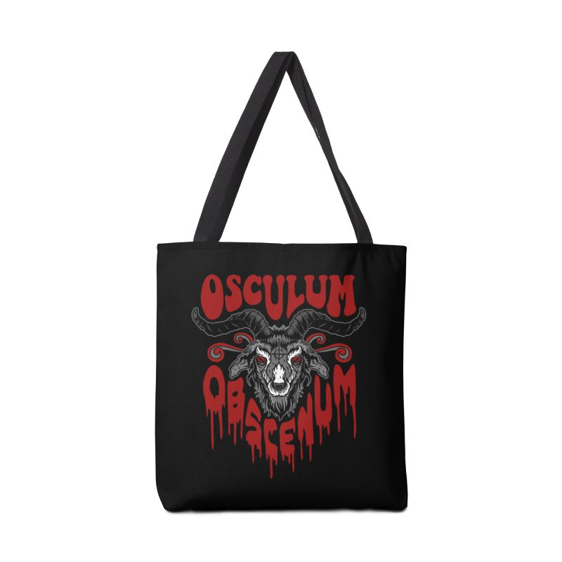 Kiss the Goat Accessories Tote Bag Bag by Ninth Street Design's Artist Shop