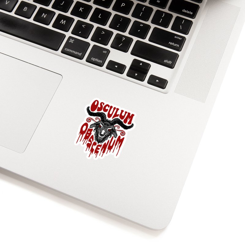 Kiss the Goat Accessories Sticker by Ninth Street Design's Artist Shop