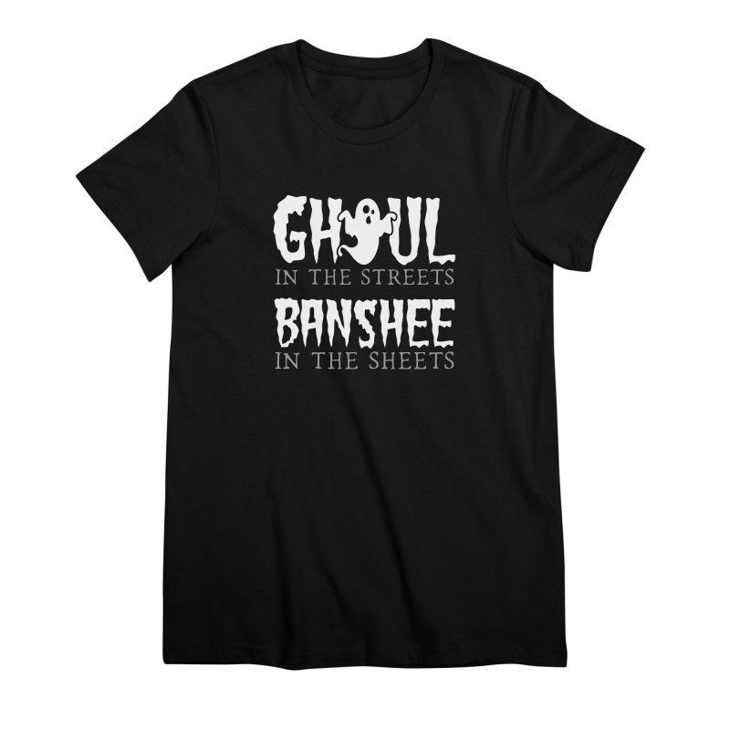 Banshee in the sheets Women's Premium T-Shirt by Ninth Street Design's Artist Shop