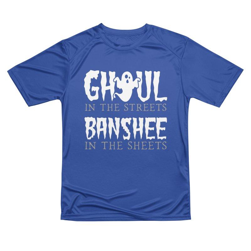 Banshee in the sheets Men's Performance T-Shirt by Ninth Street Design's Artist Shop