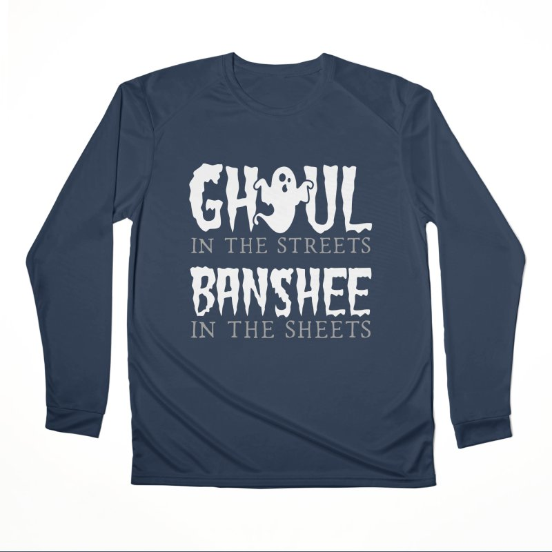 Banshee in the sheets Men's Performance Longsleeve T-Shirt by Ninth Street Design's Artist Shop