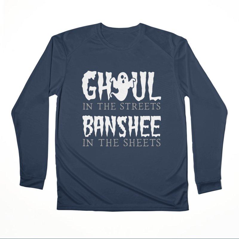 Banshee in the sheets Women's Performance Unisex Longsleeve T-Shirt by Ninth Street Design's Artist Shop
