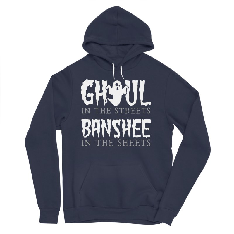 Banshee in the sheets Women's Sponge Fleece Pullover Hoody by Ninth Street Design's Artist Shop