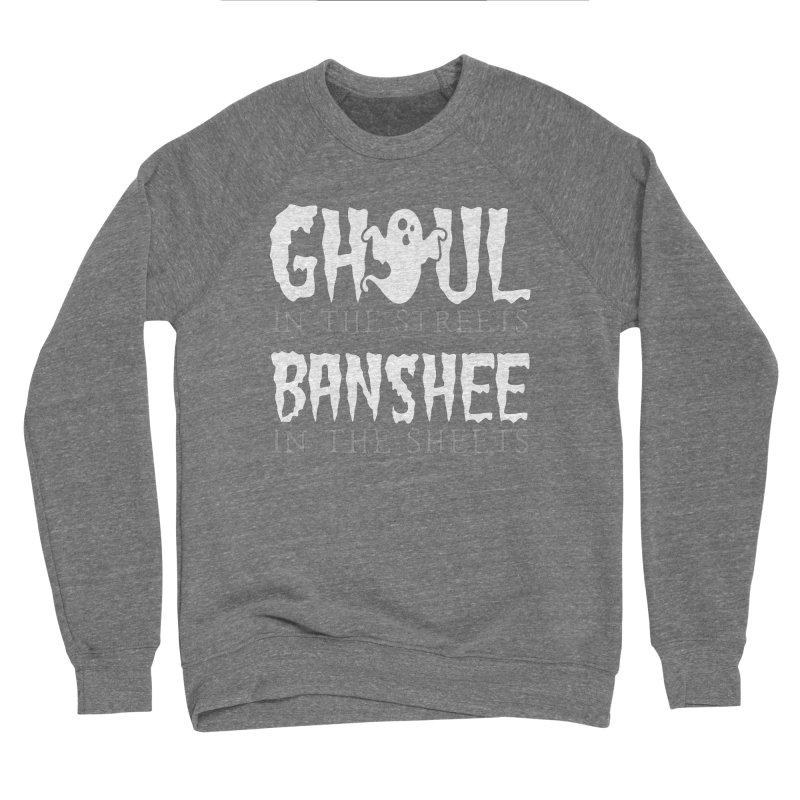 Banshee in the sheets Men's Sponge Fleece Sweatshirt by Ninth Street Design's Artist Shop