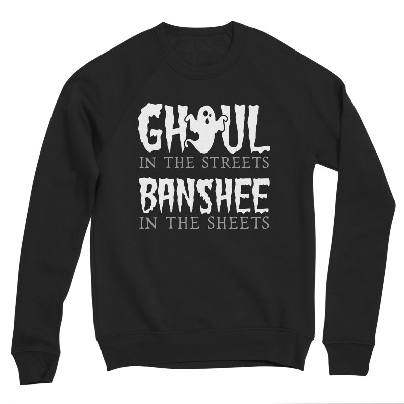 Banshee in the sheets Men's Sponge Fleece Sweatshirt by Ninth Street Design's Artist Shop