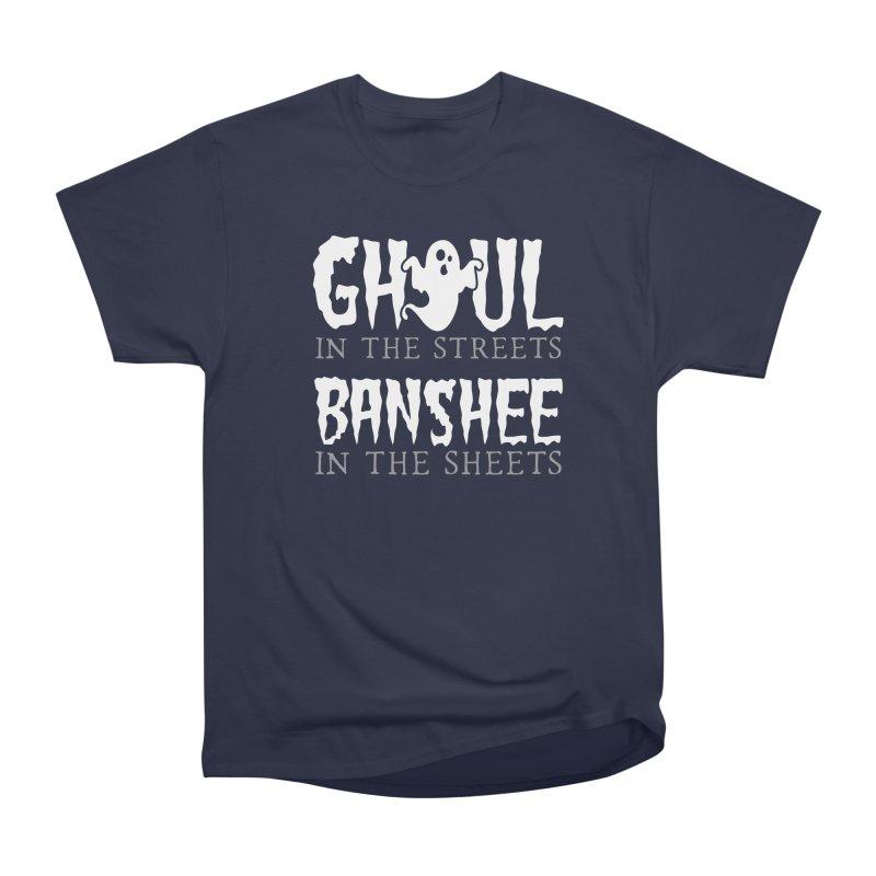 Banshee in the sheets Men's Heavyweight T-Shirt by Ninth Street Design's Artist Shop