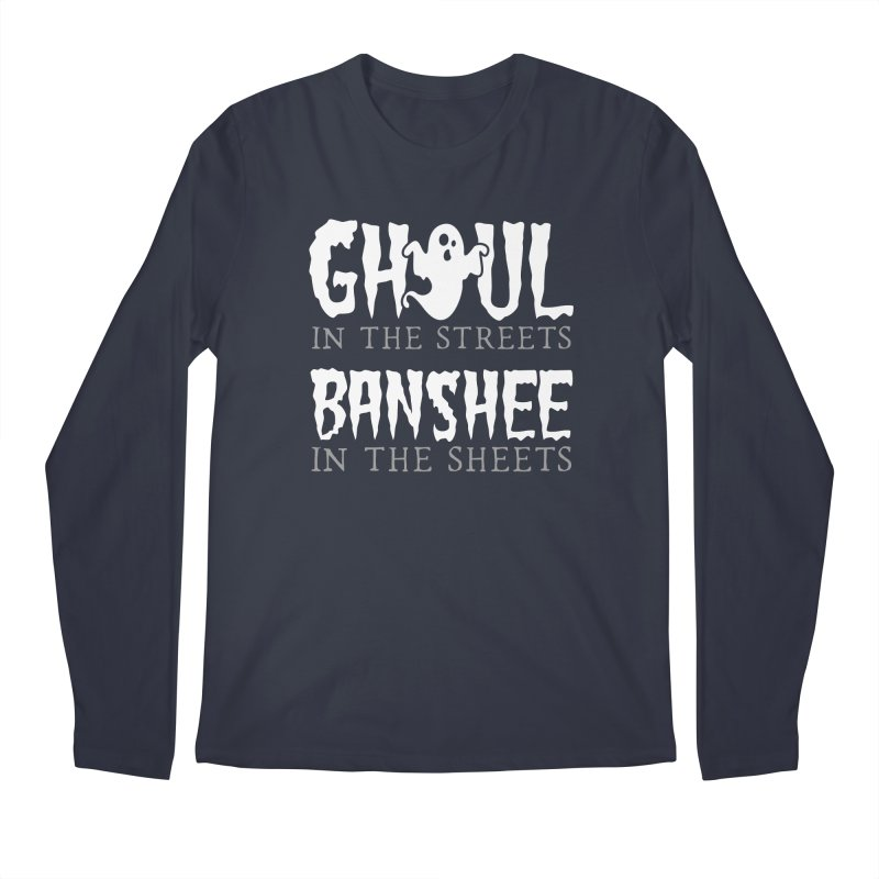 Banshee in the sheets Men's Regular Longsleeve T-Shirt by Ninth Street Design's Artist Shop
