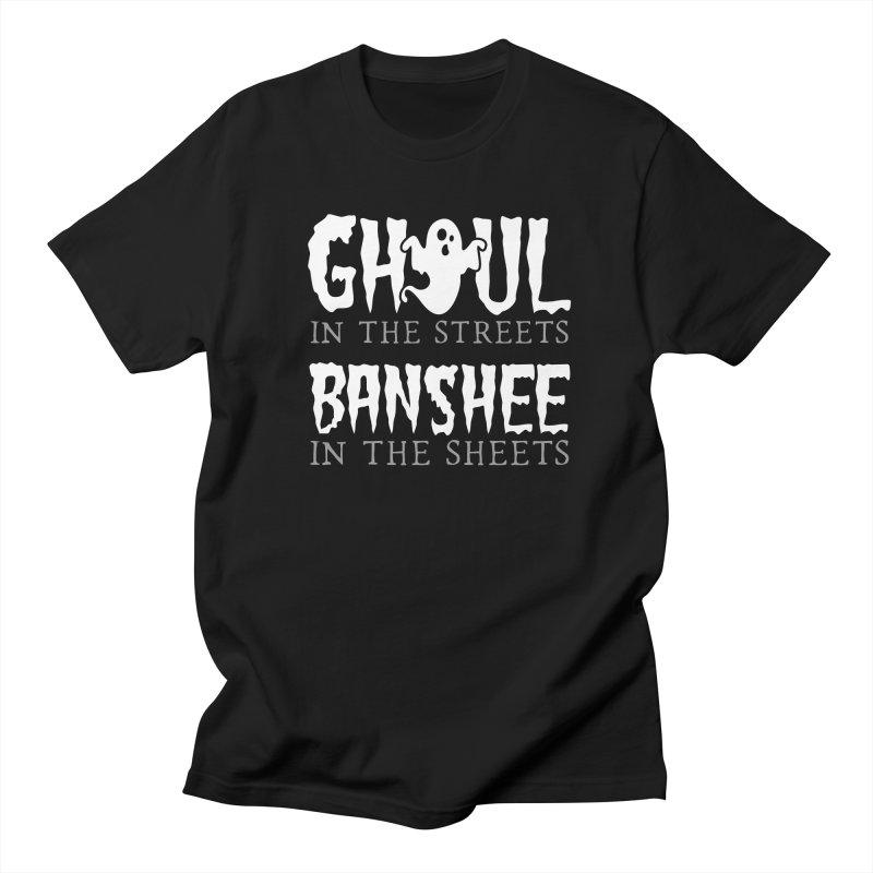 Banshee in the sheets Women's Regular Unisex T-Shirt by Ninth Street Design's Artist Shop