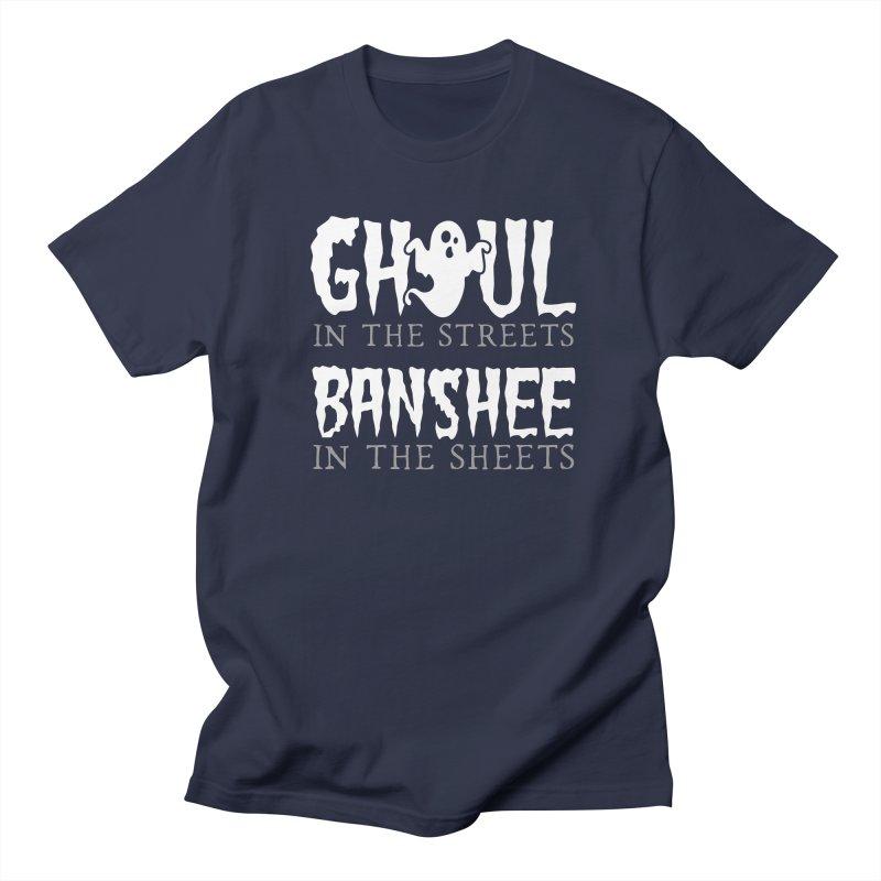 Banshee in the sheets Men's Regular T-Shirt by Ninth Street Design's Artist Shop