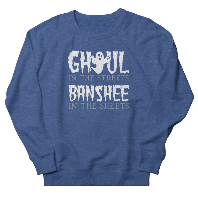 Banshee in the sheets Women's French Terry Sweatshirt by Ninth Street Design's Artist Shop
