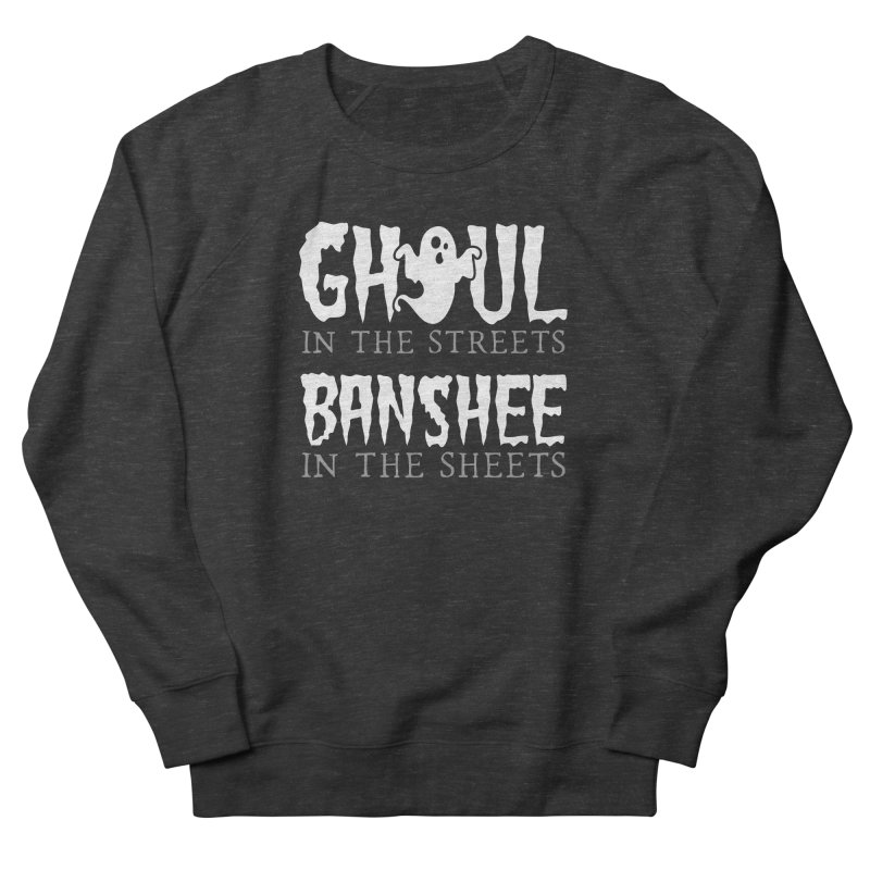 Banshee in the sheets Men's French Terry Sweatshirt by Ninth Street Design's Artist Shop