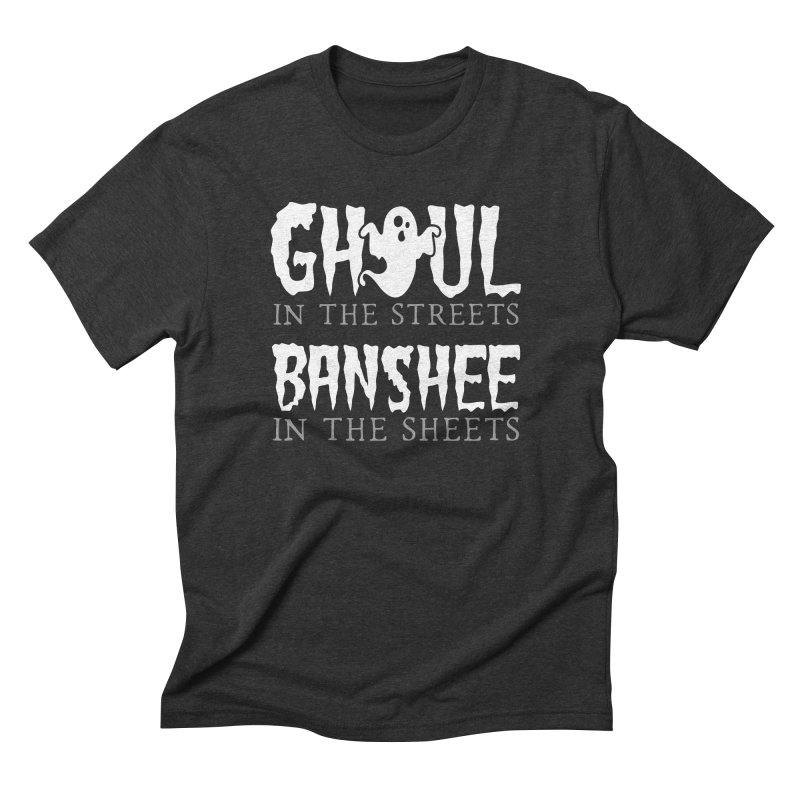 Banshee in the sheets Men's Triblend T-Shirt by Ninth Street Design's Artist Shop