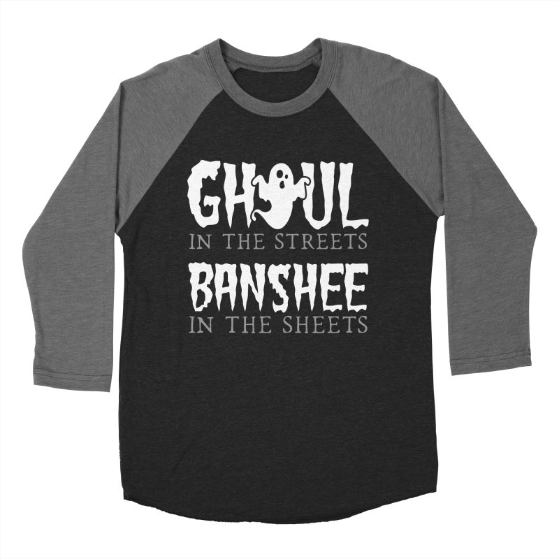 Banshee in the sheets Men's Baseball Triblend Longsleeve T-Shirt by Ninth Street Design's Artist Shop