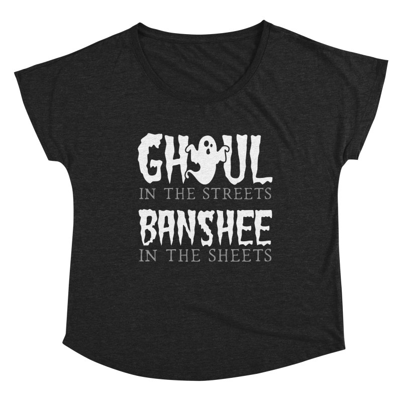 Banshee in the sheets Women's Dolman Scoop Neck by Ninth Street Design's Artist Shop