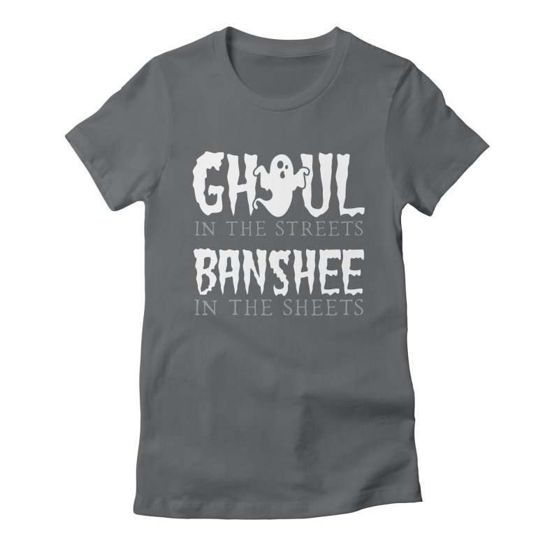 Banshee in the sheets Women's Fitted T-Shirt by Ninth Street Design's Artist Shop
