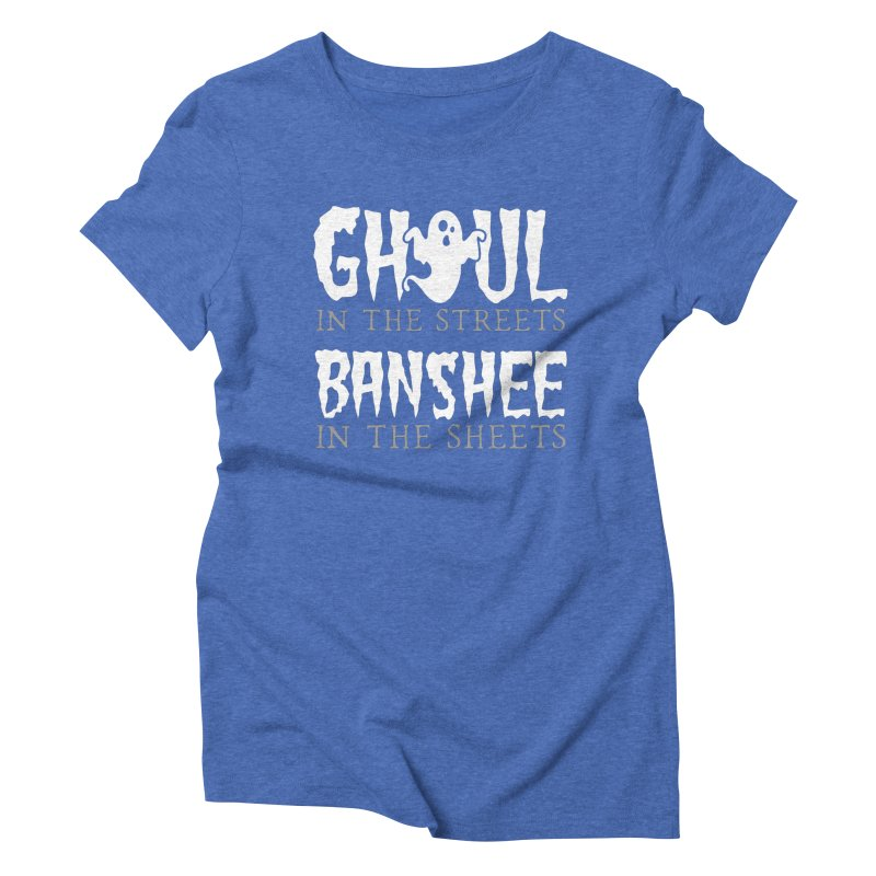 Banshee in the sheets Women's Triblend T-Shirt by Ninth Street Design's Artist Shop