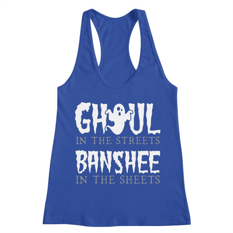 Banshee in the sheets Women's Racerback Tank by Ninth Street Design's Artist Shop