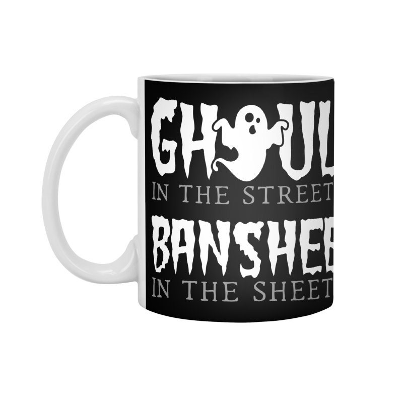 Banshee in the sheets Accessories Standard Mug by Ninth Street Design's Artist Shop