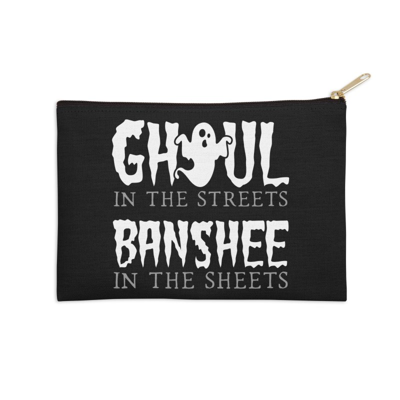 Banshee in the sheets Accessories Zip Pouch by Ninth Street Design's Artist Shop