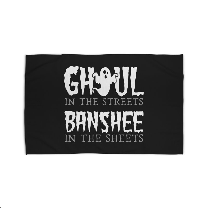 Banshee in the sheets Home Rug by Ninth Street Design's Artist Shop