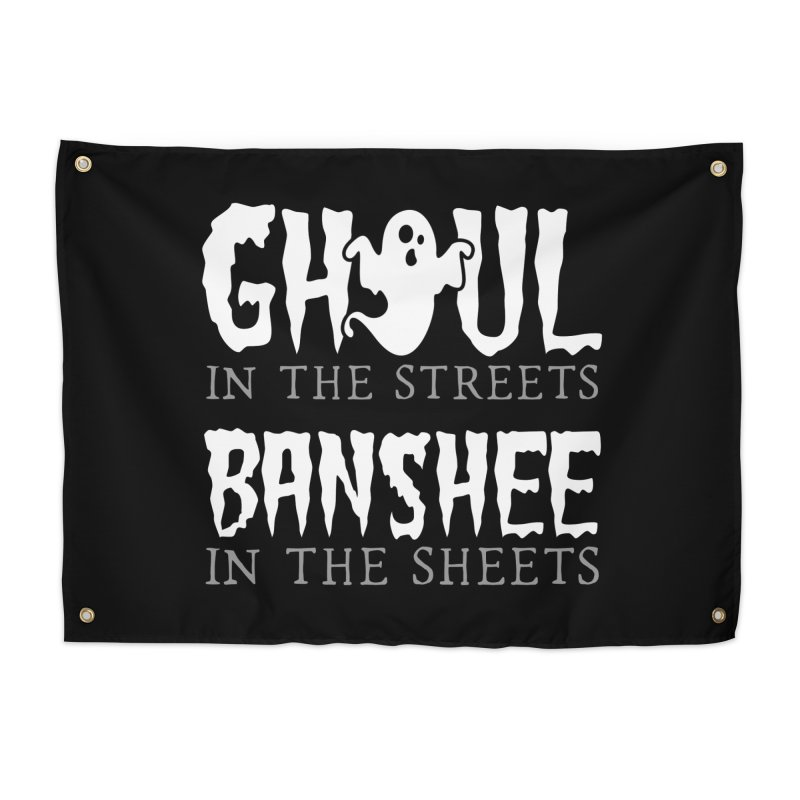 Banshee in the sheets Home Tapestry by Ninth Street Design's Artist Shop
