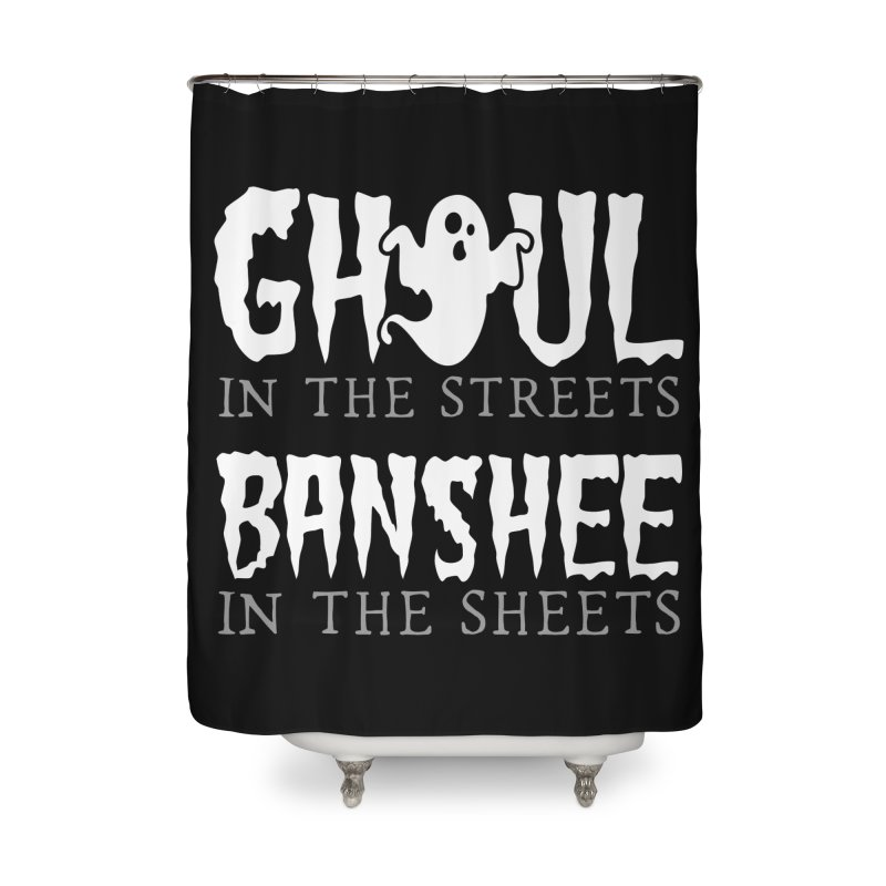Banshee in the sheets Home Shower Curtain by Ninth Street Design's Artist Shop