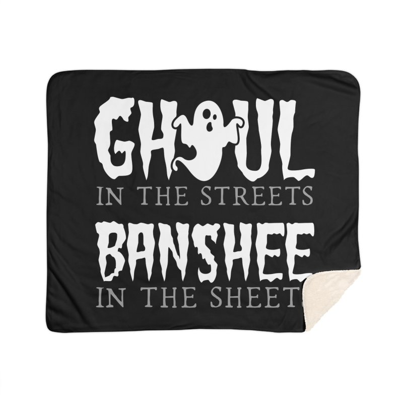 Banshee in the sheets Home Sherpa Blanket Blanket by Ninth Street Design's Artist Shop