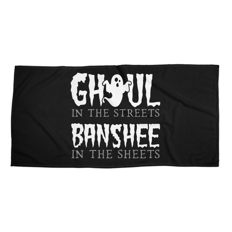 Banshee in the sheets Accessories Beach Towel by Ninth Street Design's Artist Shop