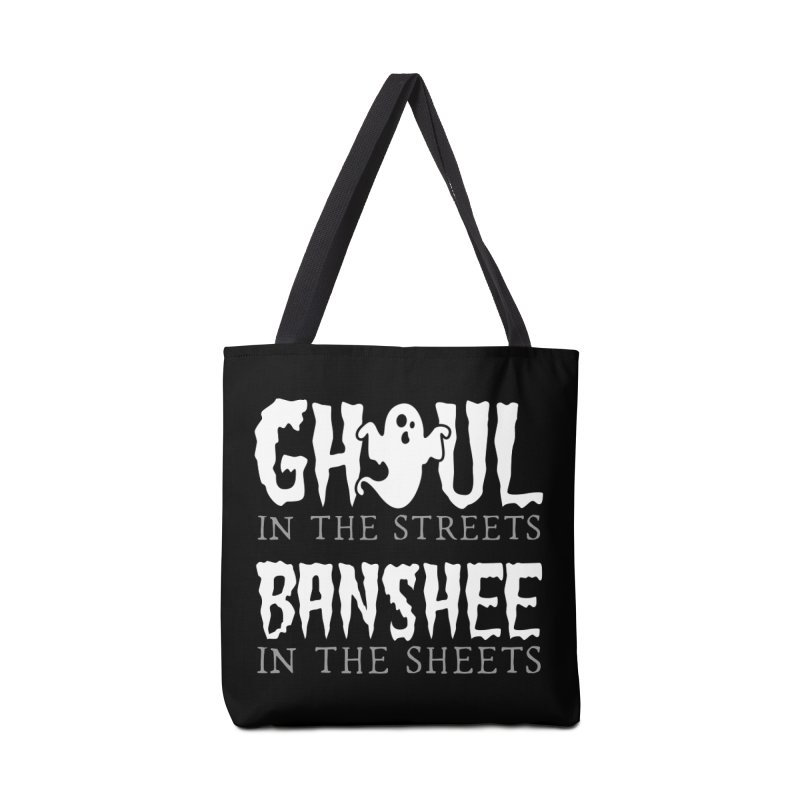 Banshee in the sheets Accessories Tote Bag Bag by Ninth Street Design's Artist Shop