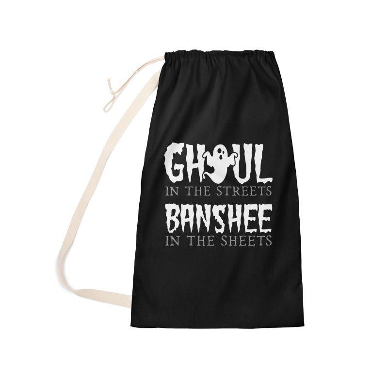 Banshee in the sheets Accessories Laundry Bag Bag by Ninth Street Design's Artist Shop