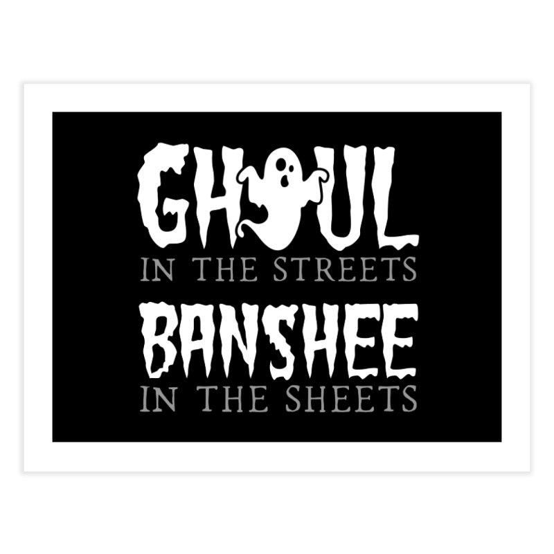 Banshee in the sheets Home Fine Art Print by Ninth Street Design's Artist Shop