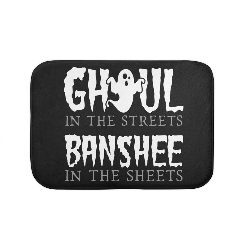 Banshee in the sheets Home Bath Mat by Ninth Street Design's Artist Shop