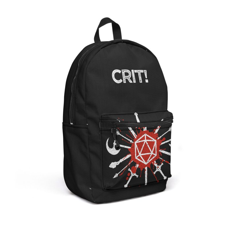 Choose your weapon Accessories Backpack Bag by Ninth Street Design's Artist Shop