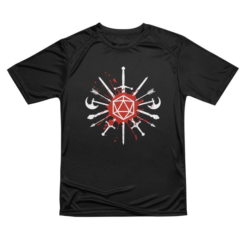 Choose your weapon Men's Performance T-Shirt by Ninth Street Design's Artist Shop