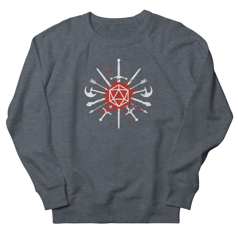 Choose your weapon Men's French Terry Sweatshirt by Ninth Street Design's Artist Shop
