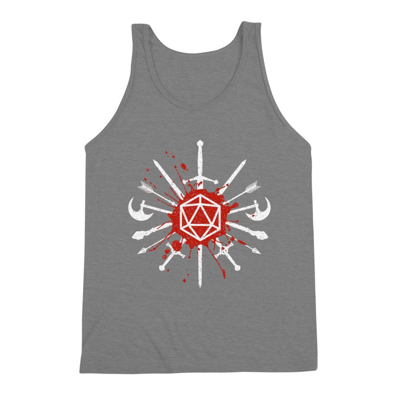 Choose your weapon Men's Triblend Tank by Ninth Street Design's Artist Shop